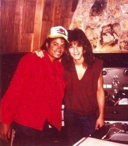 Michael and Eddie Van Halen