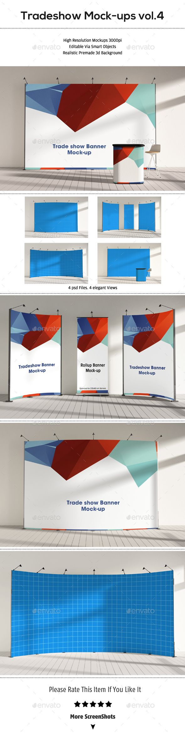 Trade Show Booth Mock-ups. Download here: http://graphicriver.net/item/trade-show-booth-mockups-vol4/15329018?ref=ksioks