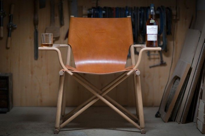 This Chair is Designed to Hold Your Whiskey / Get started on liberating your interior design at Decoraid (decoraid.com)