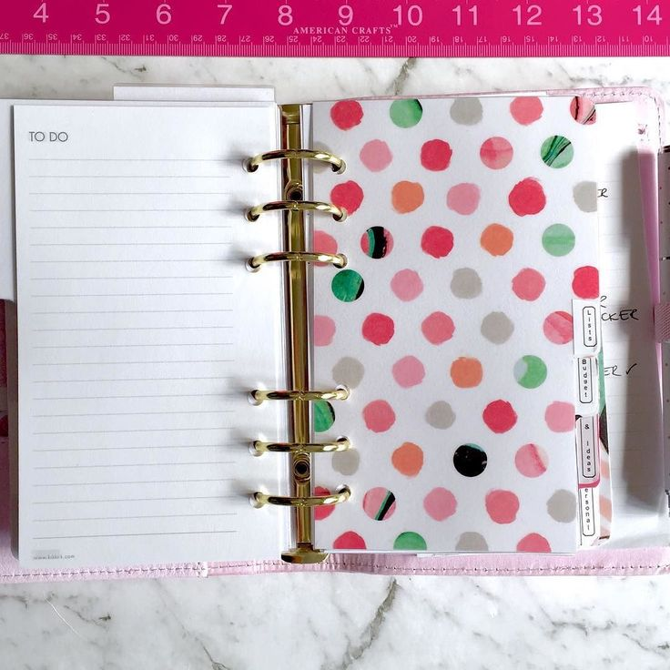 Another new divider for my lavender Thrive Kikki.k personal planner.