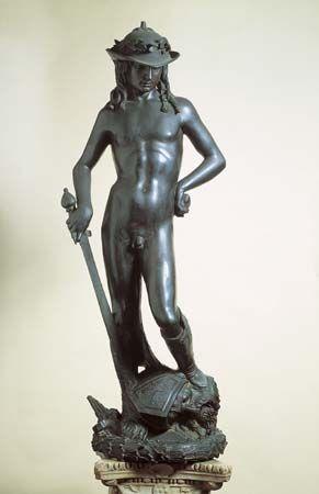 David, Donatello, 1428-32