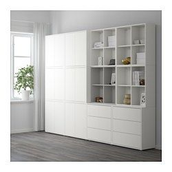 Epic EKET Cabinet bination with feet white light grey IKEA