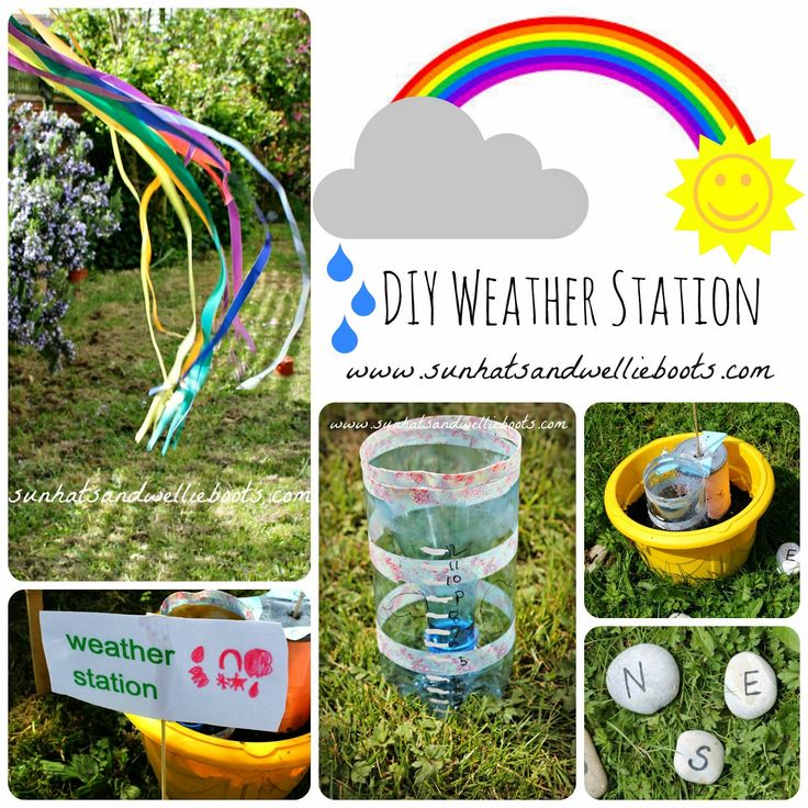 Sun Hats & Wellie Boots: DIY Weather Station for Kids to Make