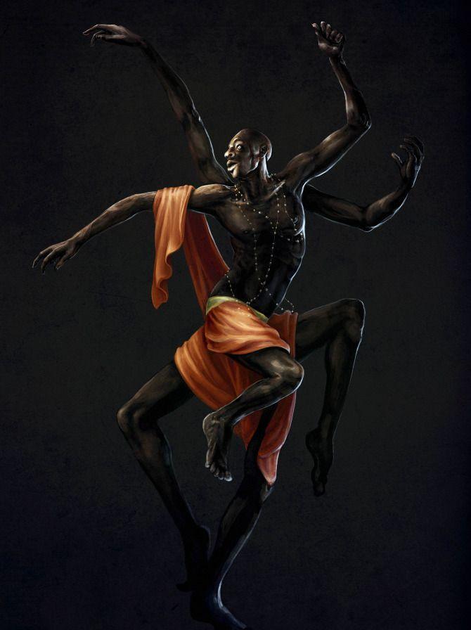 """""""Anansi, the Spider God"""""""