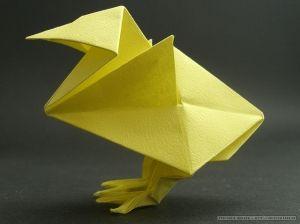 Chicken origami Jun Maekawa