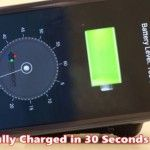 With This Technology, You Can Charge Your Phone in 30 Seconds!