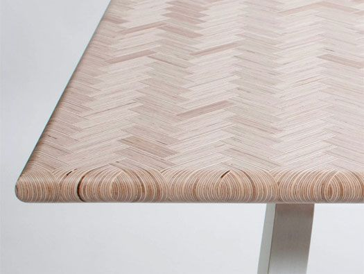 """Constructed Surface Table by Atelier Rick Tegelaar 