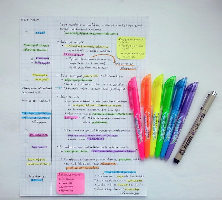 92 best study help images on Pinterest School, History and Homes - sample cornell note