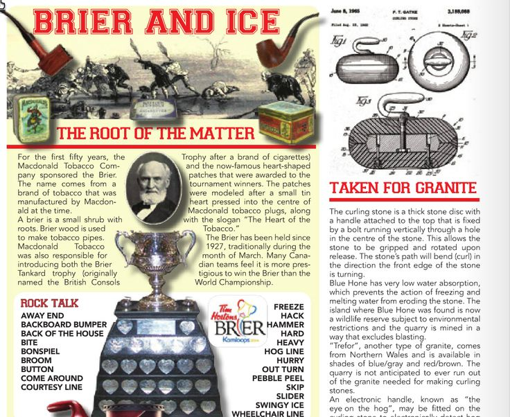 Its time for an ice cold Brier. www.commentcanada.com to subscribe!
