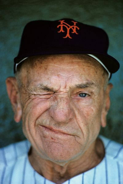 'The Old Perfesser' -- Bronx Banter -- Baseball legend -- Casey Stengle was born today 7-30 in 1890. Casey was a fixture in baseball for years and years spanning from his playing days to his managerial career with the NY Yankees and the NY Mets. Casey passed in 1975.