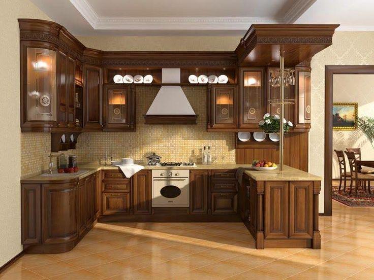 Wonderful Latest Wood Kitchen Design With Drawers Design Part 27