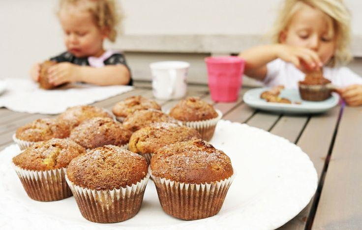 Kitchenette — Rebarborovo-skořicové muffiny