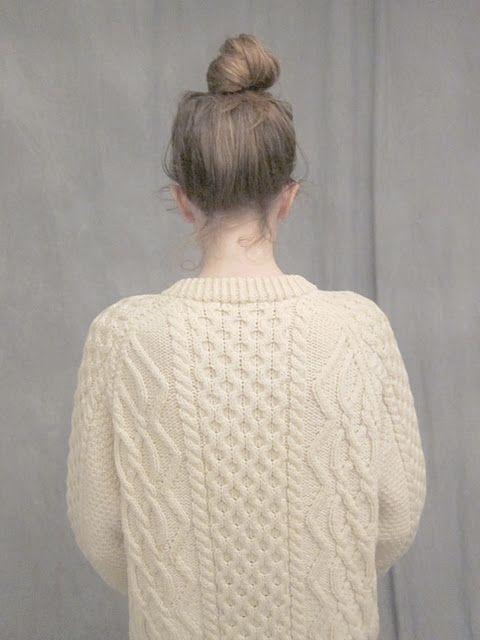 Irish sweater - Ashley Rose Helvey. tis' beautiful.