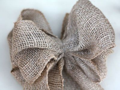 Burlap and lace pew bows when i say quot i do quot pinterest