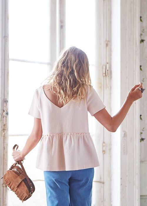Capsule Mai // Blouse Alessia & Sac Patti Franges www.sezane.com #sezane #lookbook #capsule #mai #ciaosezane #amoremio #positani #napoli #italia #capri #amalfi #amalficoast #blouse #alessia #sac #patti #franges