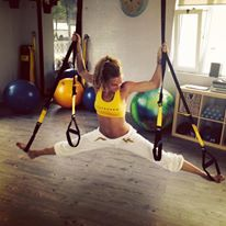 trx with Daria , just enjoy