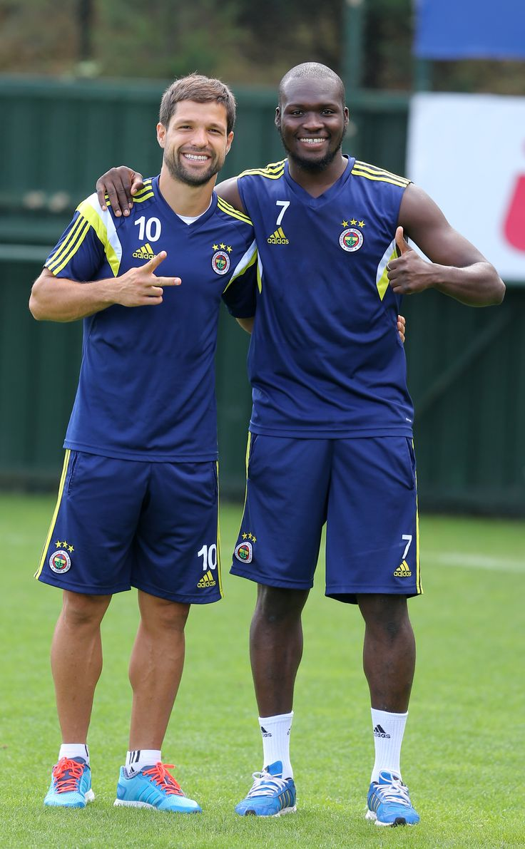 Diego Ribas & Moussa Sow