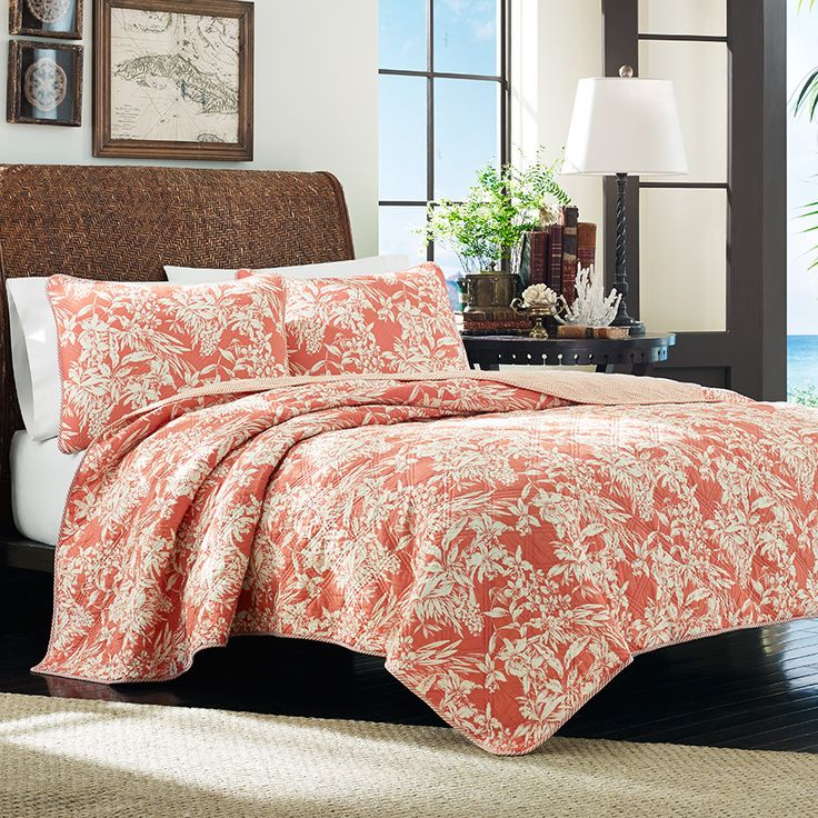 Tommy Bahama Orchid Retreat Quilt Bedding Pinterest Tommy Bahama And Floral Bedding