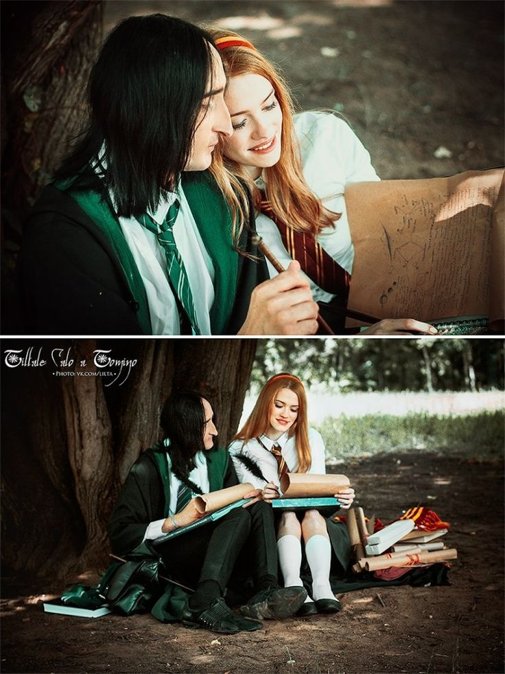 "Lily Evans (Potter) & Severus Snape (J.K.Rowling - ""Harry Potter"")   Лили Эванс (Поттер) и Северус Снейп (Дж.К.Роулинг - ""Гарри Поттер) Photo: Anaida Hovrenkova © L I L T A   vk.com/lilta   http://lilta-photo.deviantart.com/  ..."