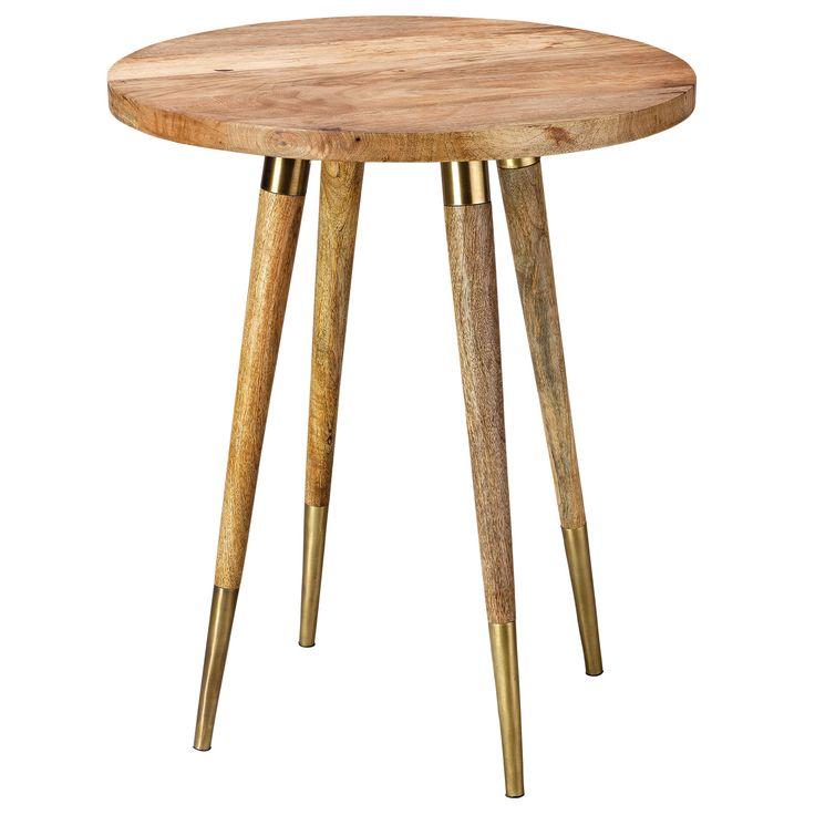 Jamie Young Owen Side Table @Zinc_Door