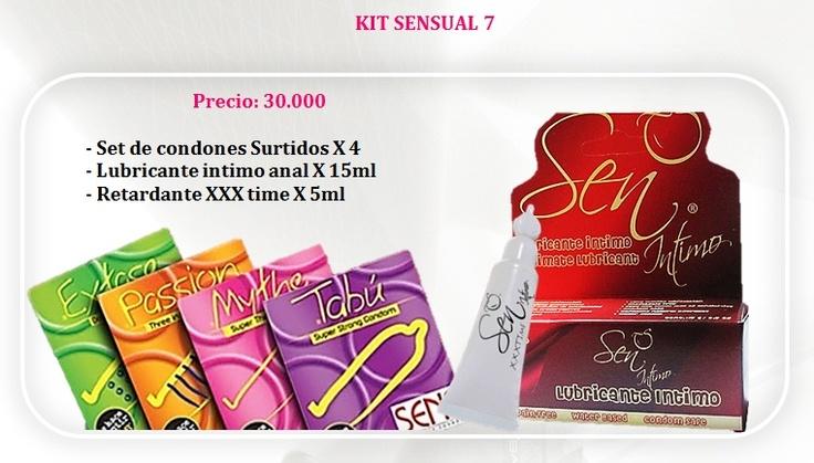 Kits eróticos y sensuales para incrementar la pasión, hacemos envios nacionales.