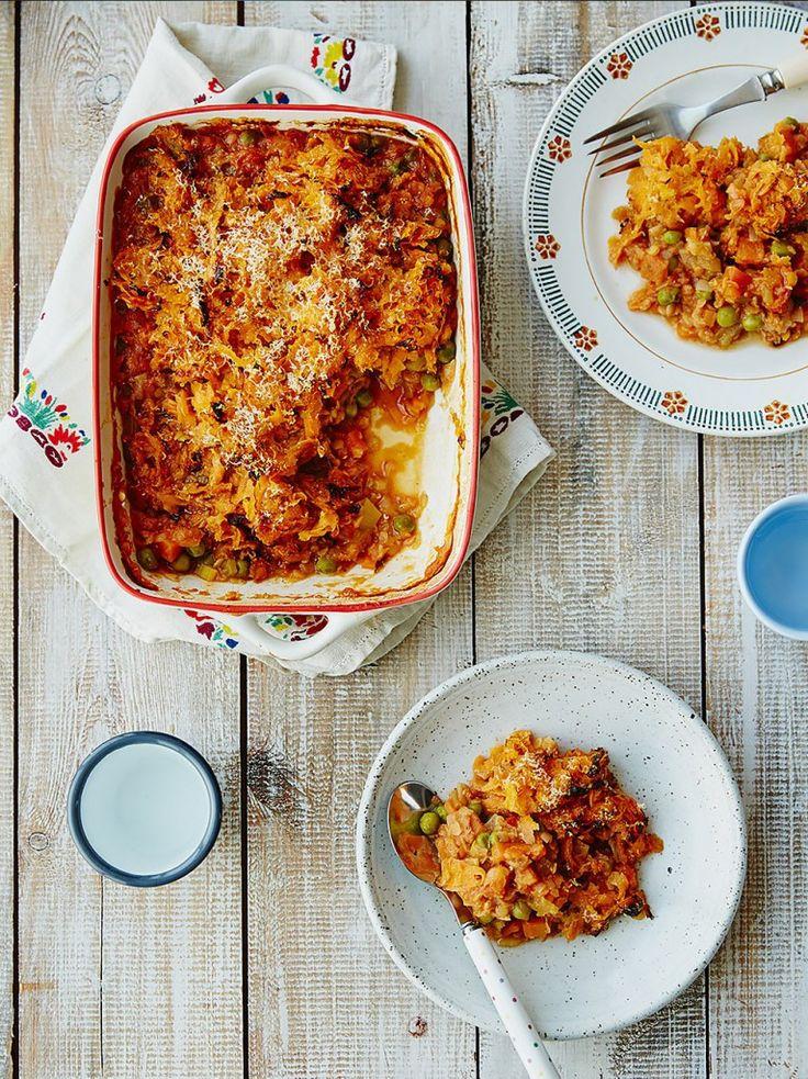 Veg & Lentil Cottage Pie | Weaning | Jamie Oliver