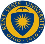 Come into our town beware of the Flash cause it's blue and yellow, blue and yellow, blue and yellow! Kent State whatup? <3