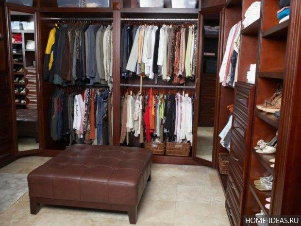 гардеробные комнаты дизайн проекты фото