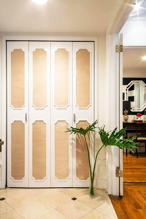 14 Ways To Beautify Your Closet Doors
