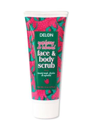 Delon Raspberry & Almond Face & Body Scrub - 6 Oz. by Delon. $3.14