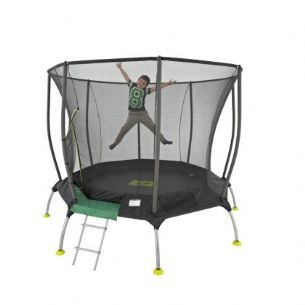 8ft TP Genius Octagonal2 Trampoline with Igloo Door Entry,Trampoline,8ft trampoline