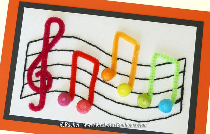 Activit Manuelle Cr Ative Theme Musique Enfant Activit Manuelle Sur Le Th Me De La Musique