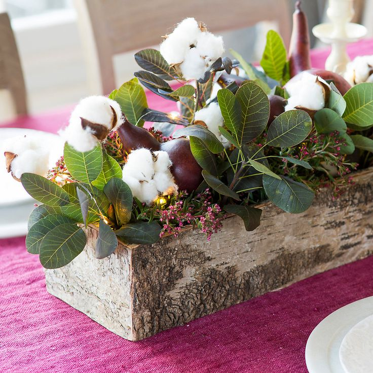 Birch Bark Trough Planter Awesome Ideas