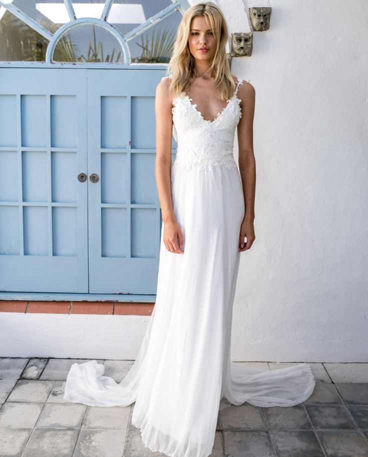 86 best Vestidos de novia images on Pinterest | Wedding frocks ...