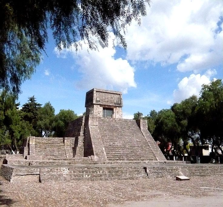 """Acatitlan (Nahuatl: """"place among the reeds""""; Spanish """"carrizal"""") is an archeological zone of the early Aztec (or Epi-toltec) culture located in the town of Santa Cecilia, in the municipality of Tlalnepantla de Baz in Mexico State, about 10 km northwest of Mexico City. In pre-Hispanic times it was located on the northwest shore of the great Lake Texcoco"""