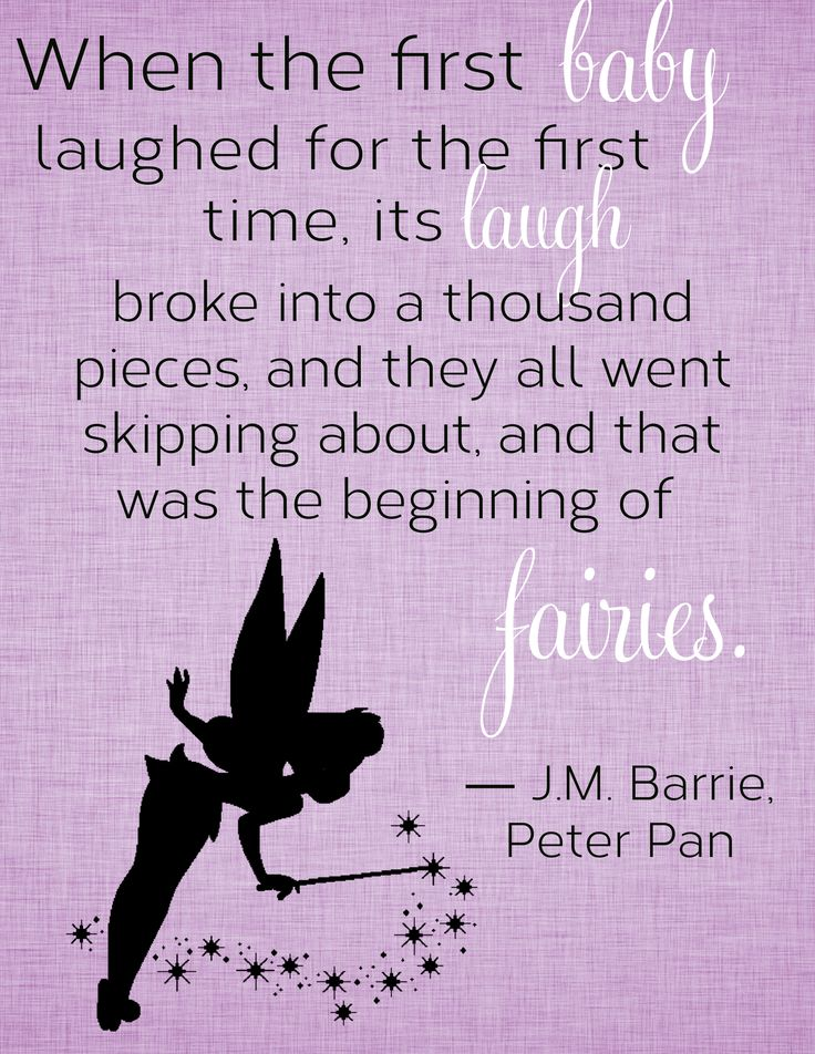 My sister is doing my niece's nursery in a fairies theme, so when I stumbled upon this quote I had to whip up a little printable. I'll post the printable PDF in a blog post if anyone is interested.
