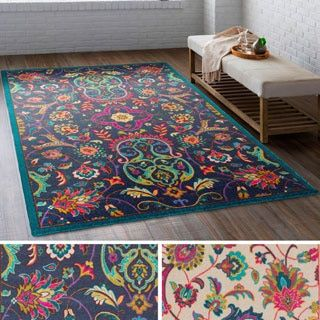 Shop for Meticulously Woven Western Nylon Rug (5'3 x 7'6). Get free shipping at Overstock.com - Your Online Home Decor Outlet Store! Get 5% in rewards with Club O!