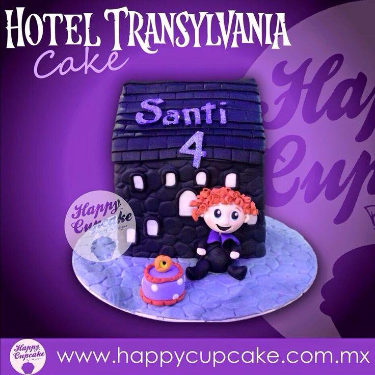 #HotelTransylvaniaCake #HotelTransylvania #HappyCupcake
