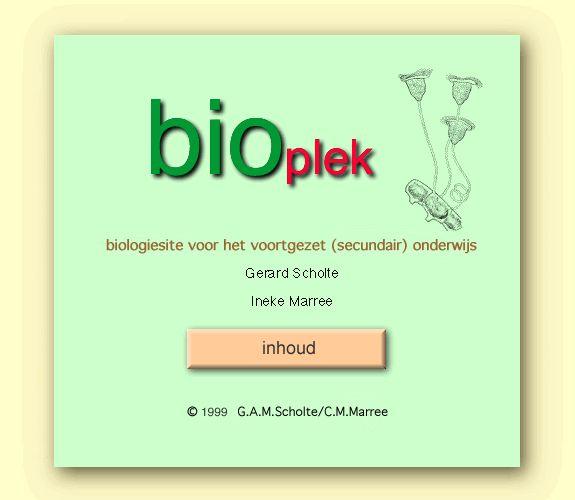 Bioplek biologie voor het voortgezet (secundair) onderwijs