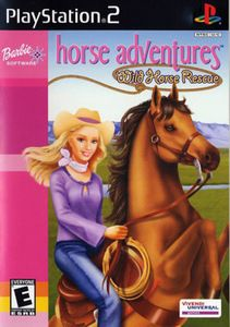 Barbie Horse Adventures Wild Horse Rescue - PS2 Game