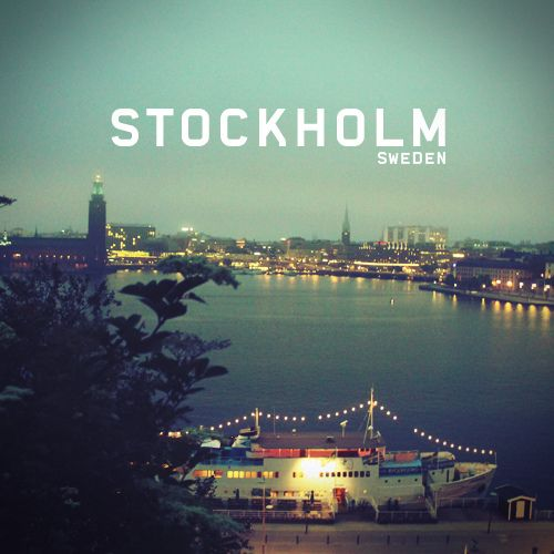 Stockholm, Sweden only a few months left before world choir games! Excited to see this beautiful place!