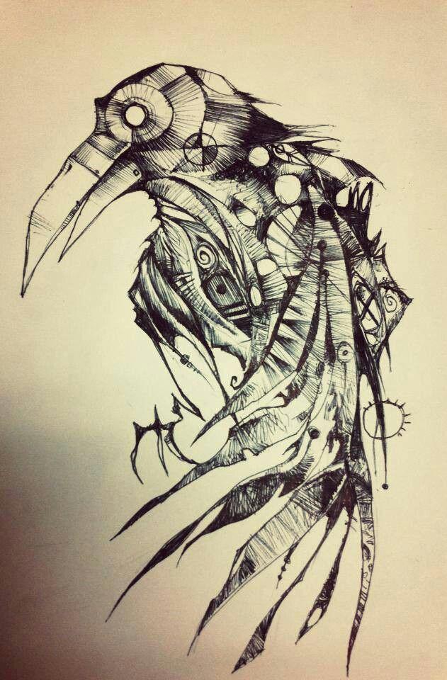 The Raven tattoo idea. Edgar Allan Poe.                                                                                                                                                      More
