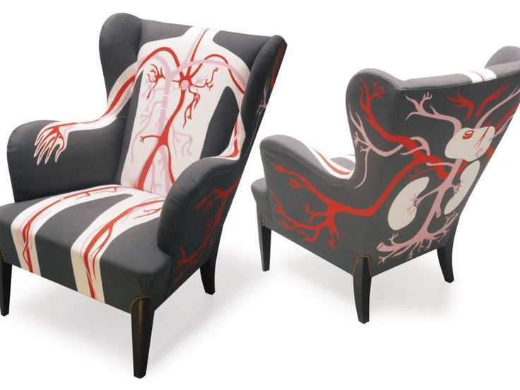 These Anatomically Upholstered Chairs, Created By AK LH, A Paris Based  Design Company, Are Part Of Their U201cTante Werau201d Series Of Armchairs.