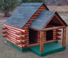 Dog House Plans - Duplex with porch 6'x5'
