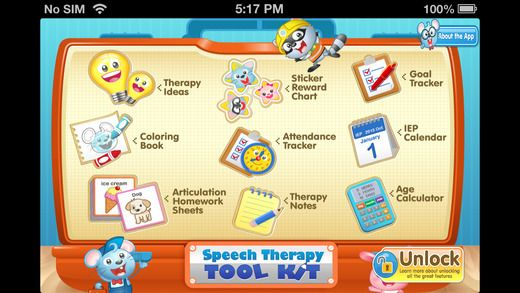 Speech Therapy Tool Kit by Doonan Speech Therapy