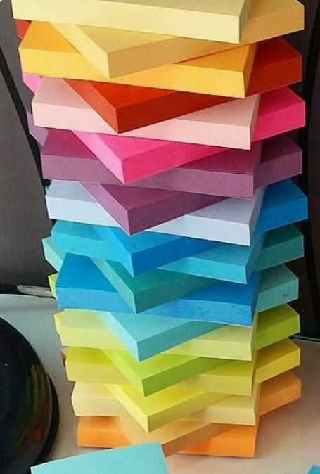 Colour •~• sticky notes