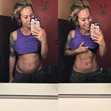 Repeat after me: abs are not a sign of health and fitness. 🚫 You can have the most amazing abs and be malnourished and unhealthy. You can have abs and eat junk food, smoke cigarettes, and drink alcohol daily. You can also have abs due to amazing genetics only and not workout a day in your life. Same goes with those who not have abs! Just because you do not have abs doesn't mean you're doing something wrong or that you're unhealthy. Abs or not-you're beautiful!! Don't ever use abs as a…