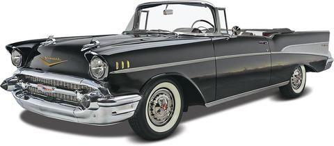 Revell-Monogram Model Cars 1/25 1957 Chevy Convertible Kit