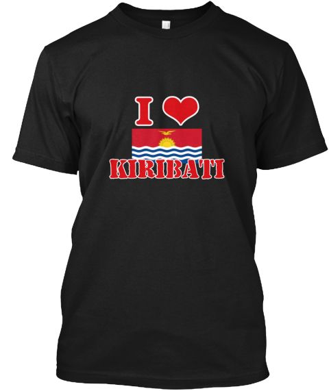 Kiribati Flag Artistic Red Design Black T-Shirt Front - This is the perfect gift for someone who loves Kiribati. Thank you for visiting my page (Related terms: I Heart Kiribati,Kiribati,Kirghiz,Kiribati Travel,I Love My Country,Kiribati Flag, Kiribati Map,Kiri #Kiribati, #Kiribatishirts...)