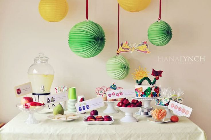 Storybook themed #baby showers: The Very Hungry Caterpillar - via @babycenter @Bump Smitten